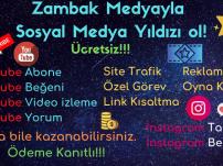 Muhteşem Sosyal Medya Paneli Zambak Medya (Ücretsiz) Para Kazan!